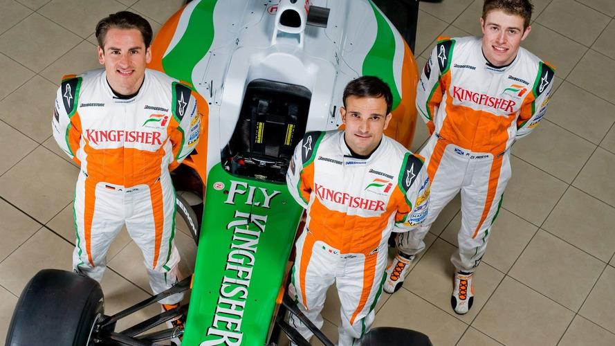 Force India reveals 2010 car VJM03