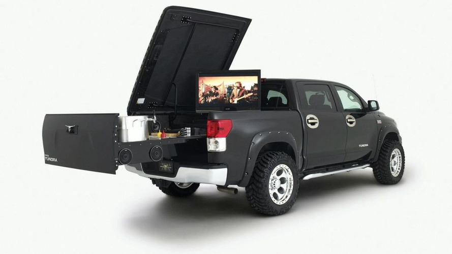 Tundra Midnight Rider Tailgater by Brooks & Dunn for SEMA