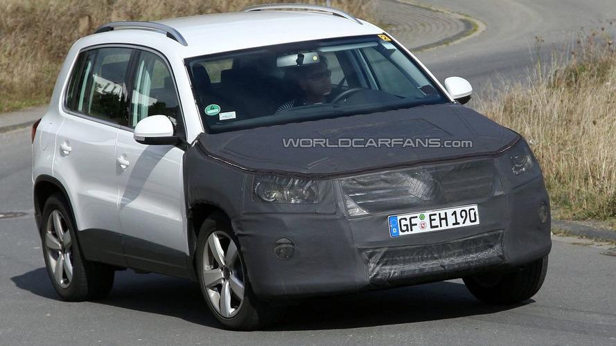 Volkswagen Tiguan Facelift Caught Hiding a New Face