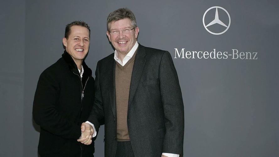 Schumacher not sacked 'because we know him' - Brawn