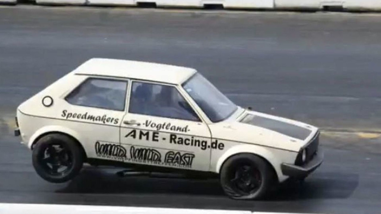 Volkswagen Polo Dragster by AME Racing