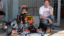 Jos Verstappen and son Max, 2010 WSK Euro R5, Sarno, 700, 26.08.2010