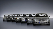 All Mercedes E class Models together