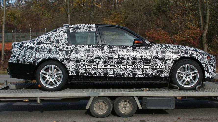 2012 BMW 3 Series Sedan Full Body Prototype Spied for the First Time