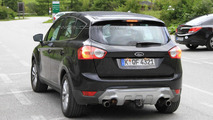 2011 Ford Kuga facelift spy photo