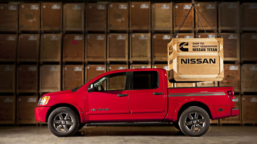 Next-generation Nissan Titan to offer a Cummins Turbo Diesel V8