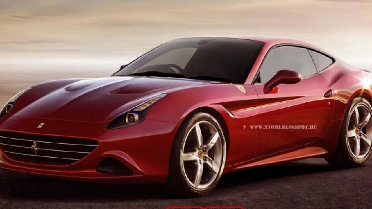 Ferrari California T Coupe render / X-Tomi