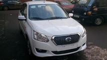 Datsun budget sedan seen without camo in Russia