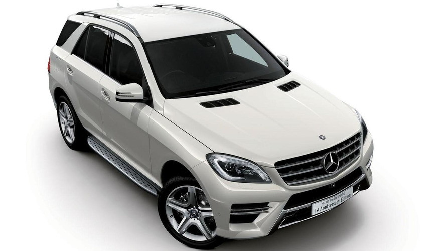 Mercedes ML350 BlueTEC 4MATIC 1st Anniversary Edition launched in Japan
