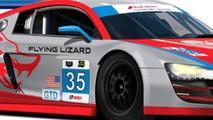 Flying Lizard Motorsports Audi R8 LMS #35