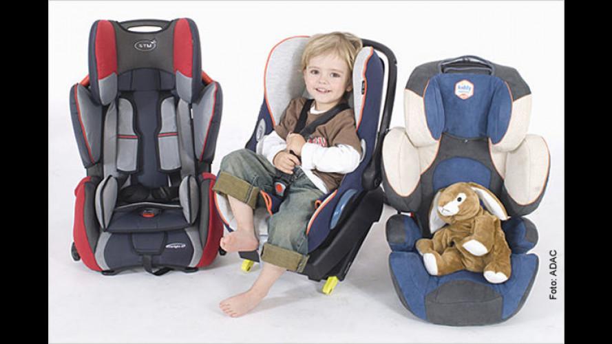 Rund ums Thema Kindersitze: Darauf sollten Sie achten