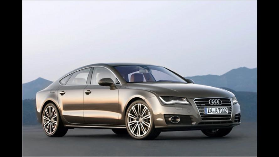 Audi A7 Sportback: Erste Bilder und Infos zum neuen Coupé