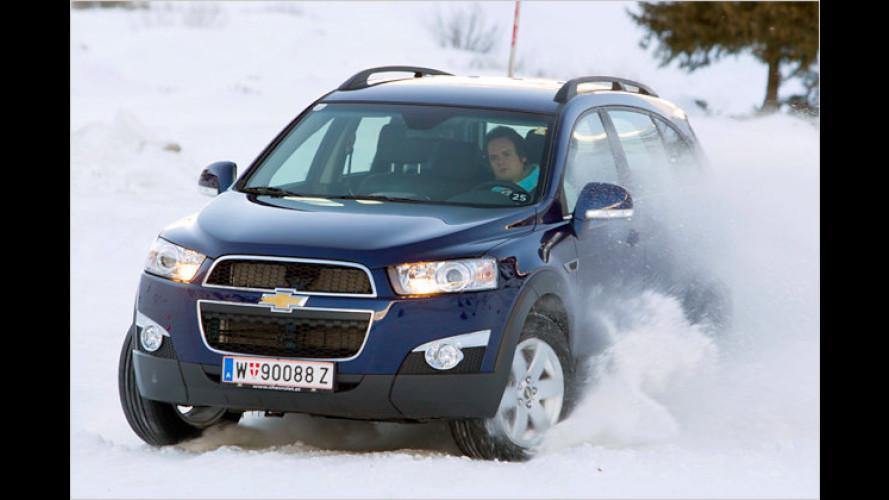 Gelegenheits-Offroader: Neuer Chevrolet Captiva im Test