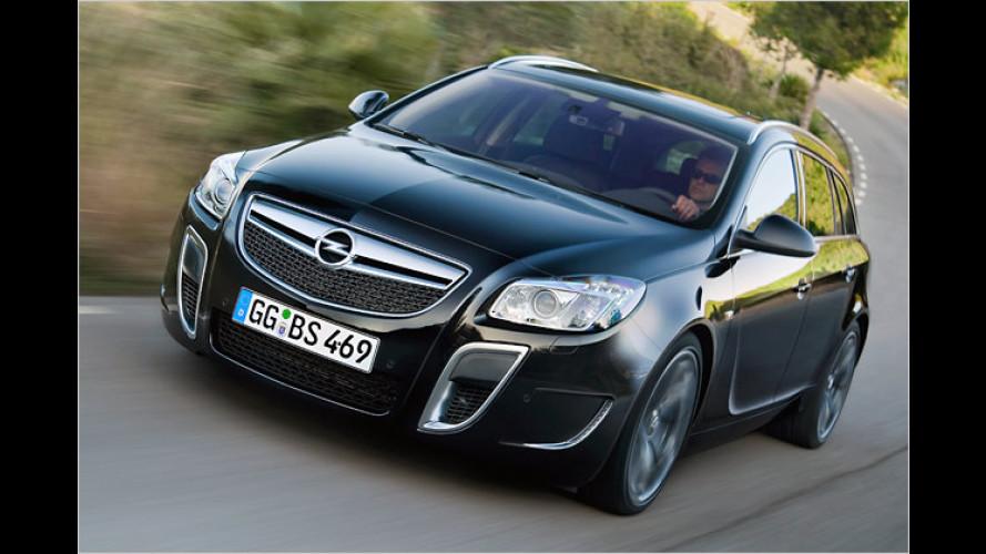 Opel Insignia OPC Sports Tourer: Der rasende Kofferraum