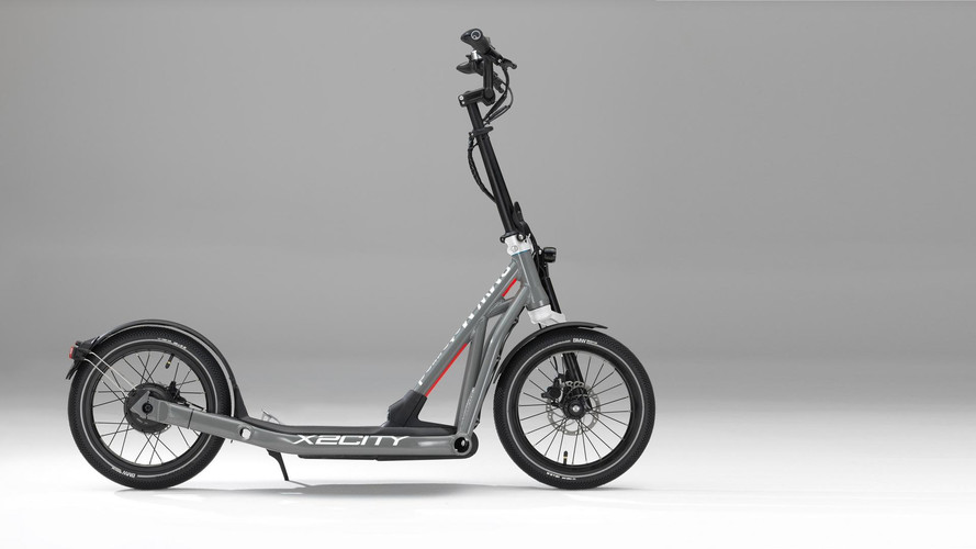 BMW'nin elektrikli scooter'ı: X2City