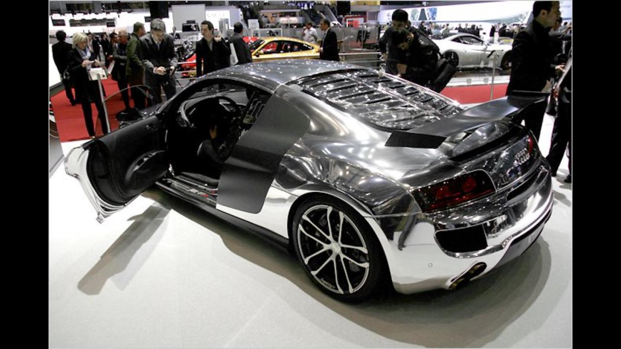 R8 GT R in silbernem Glanz