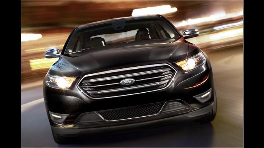 Ford macht den neuen Taurus sparsamer