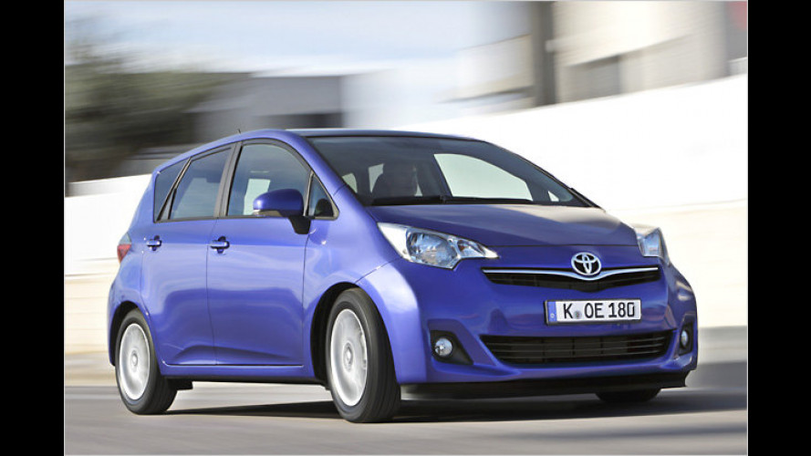 Toyota bietet für den Verso-S ein Mobilitätspaket an