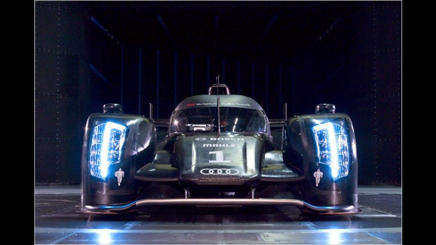 Mit Diesel-V6: Der neue Audi-Le-Mans-Renner