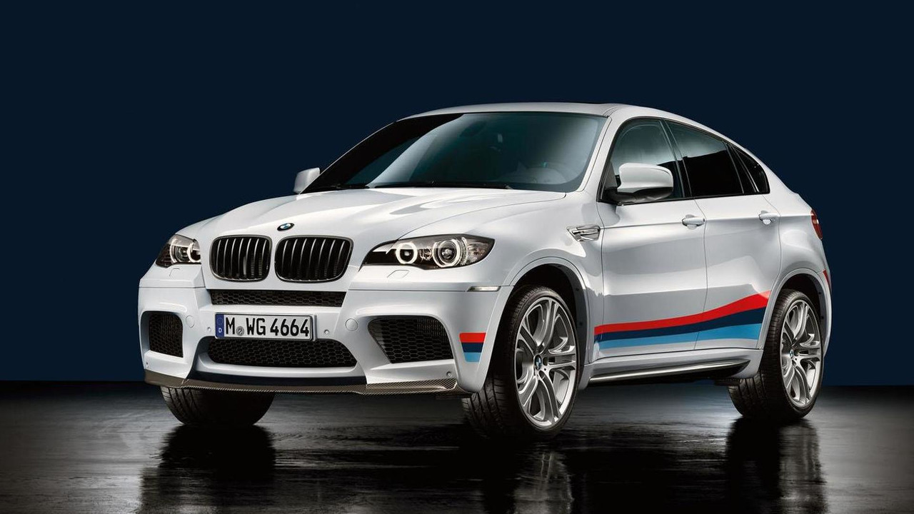 BMW X6 M with accessories - 7.9.2011
