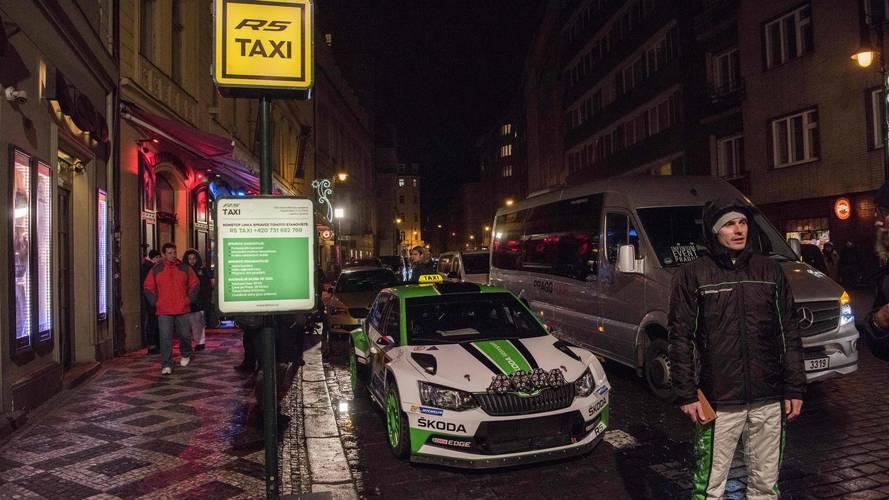 Skoda Fabia R5 taxi