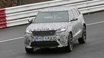 Range Rover Velar SVR spy photo