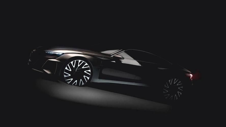 Audi mostra teaser do E-Tron GT, futuro rival do Tesla Model S