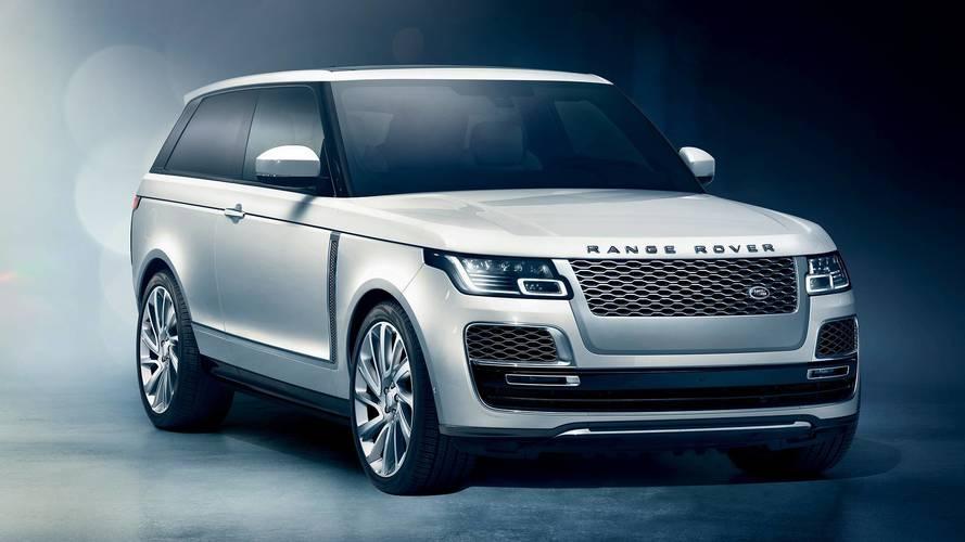 Piszok drága lett a limitált kiadású Range Rover SV Coupé