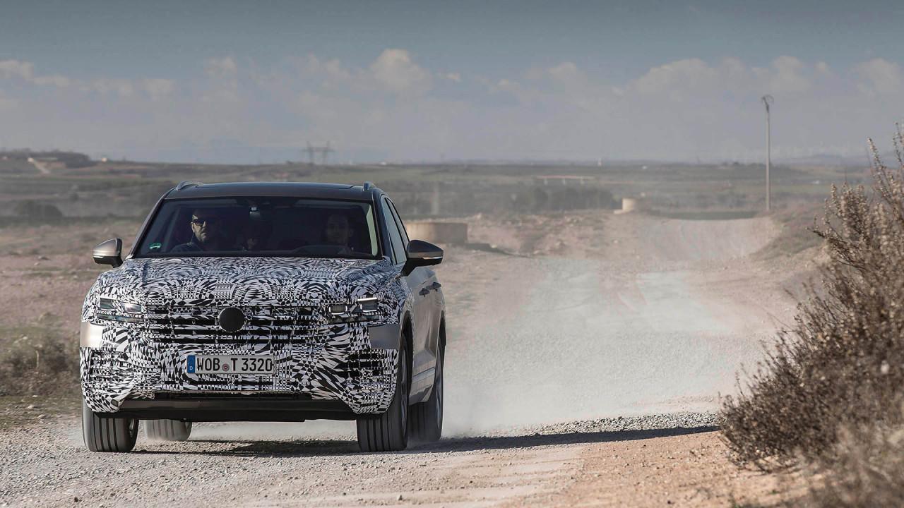 Neuer VW Touareg: Erstmals mit Hinterachslenkung