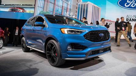 PHOTOS - Le Ford Edge restylé au Salon de Détroit 2018