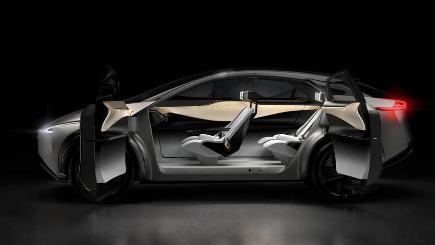 Nissan's New EV Focus – Ample Interior Space, Skateboard Setup