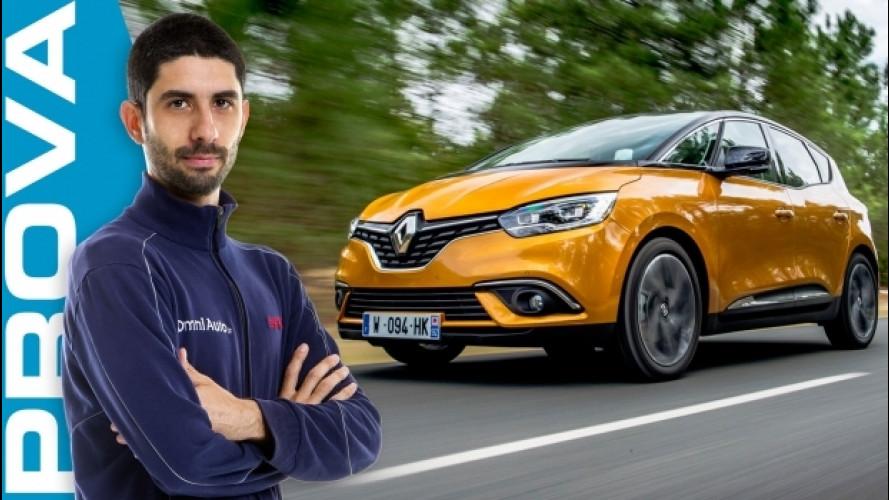 Nuova Renault Scenic, la monovolume che vuole essere bella [VIDEO]