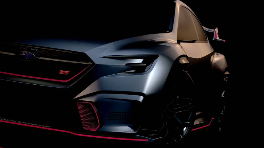 Subaru Viziv Performance STI Concept Could Signal New WRX STI