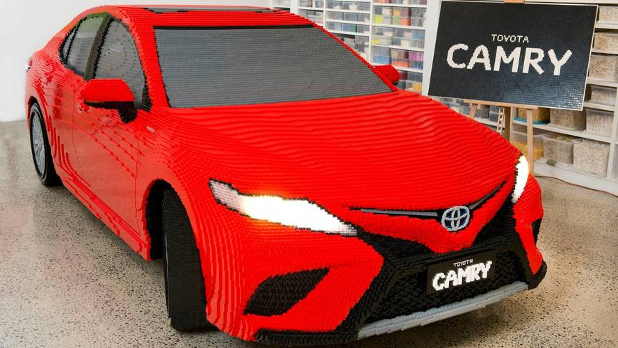 Life-Size LEGO Toyota Camry Consists Of More Than 500,000 Bricks