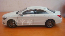 Mercedes-Benz CLA die cast model surfaces