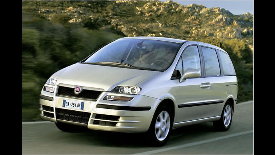 Fiat Ulysse: Mit leichter Überarbeitung ins Jahr 2008