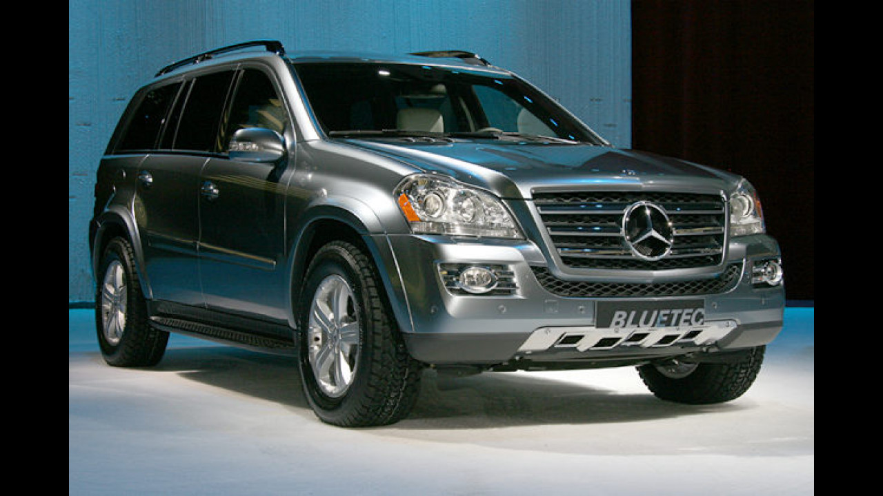 Mercedes GL 420 Bluetec