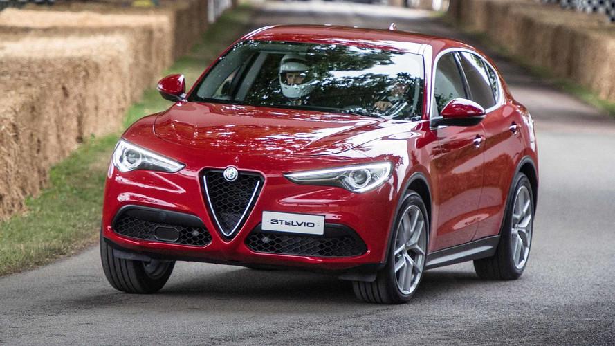 Alfa Romeo Stelvio SUV Priced From £33,990