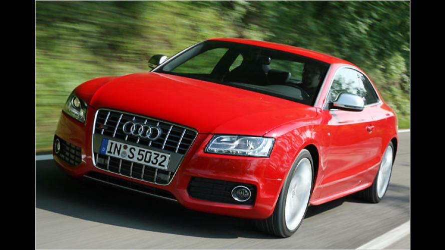 Der neue Audi S5: Heißes Date mit starkem Single