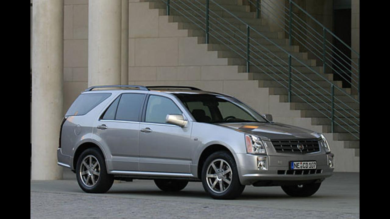 Cadillac BLS und SRX mit sattem Preisvorteil