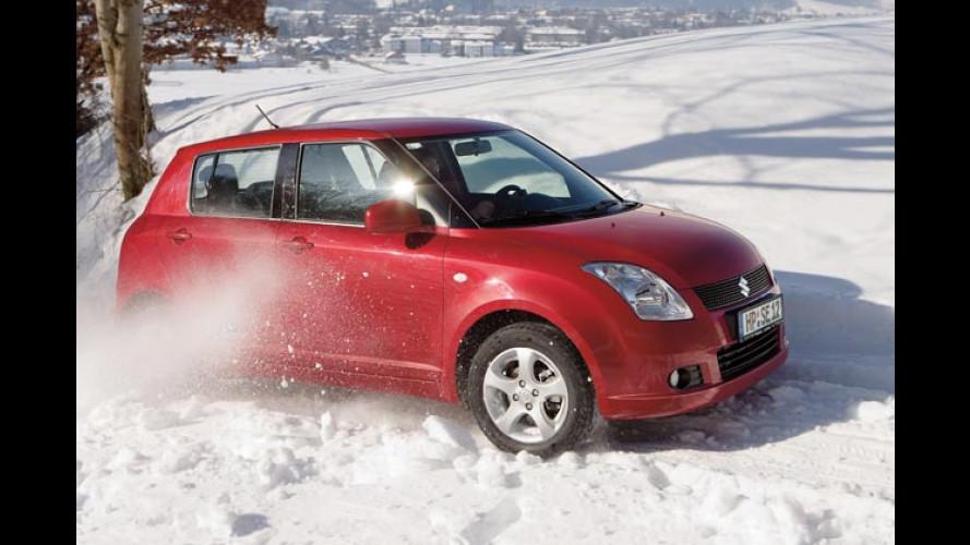Suzuki Swift 4x4 Snow: Frecher City-Flitzer als Wintermobil