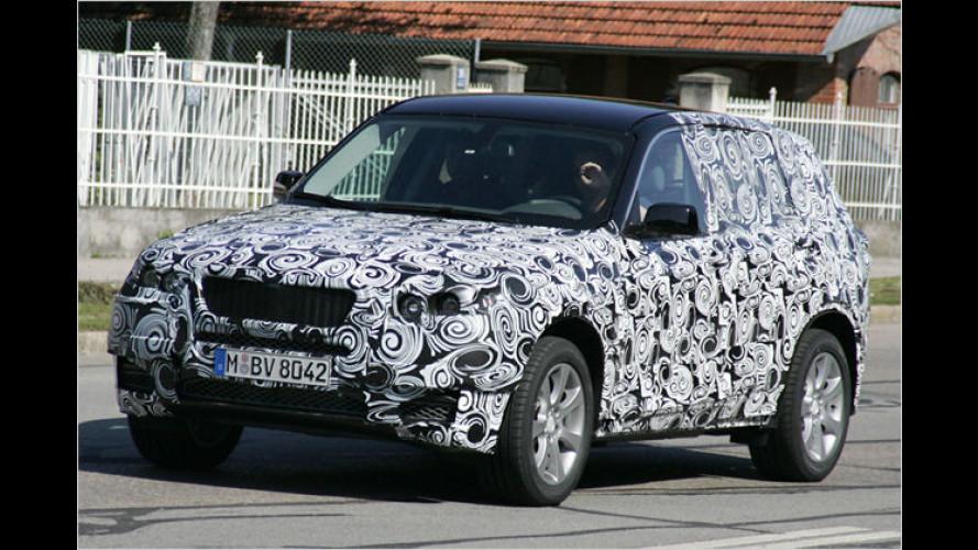 BMW X1: Erlkönig gibt erneut Ausblick aufs Serienmodell