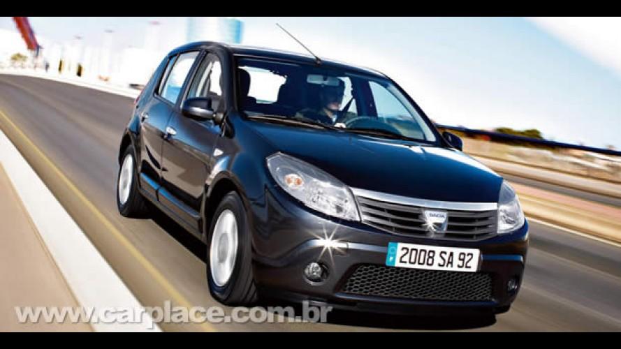 Carro mais barato da Alemanha: Dacia Sandero com ABS e Airbag sai por R$ 18 mil