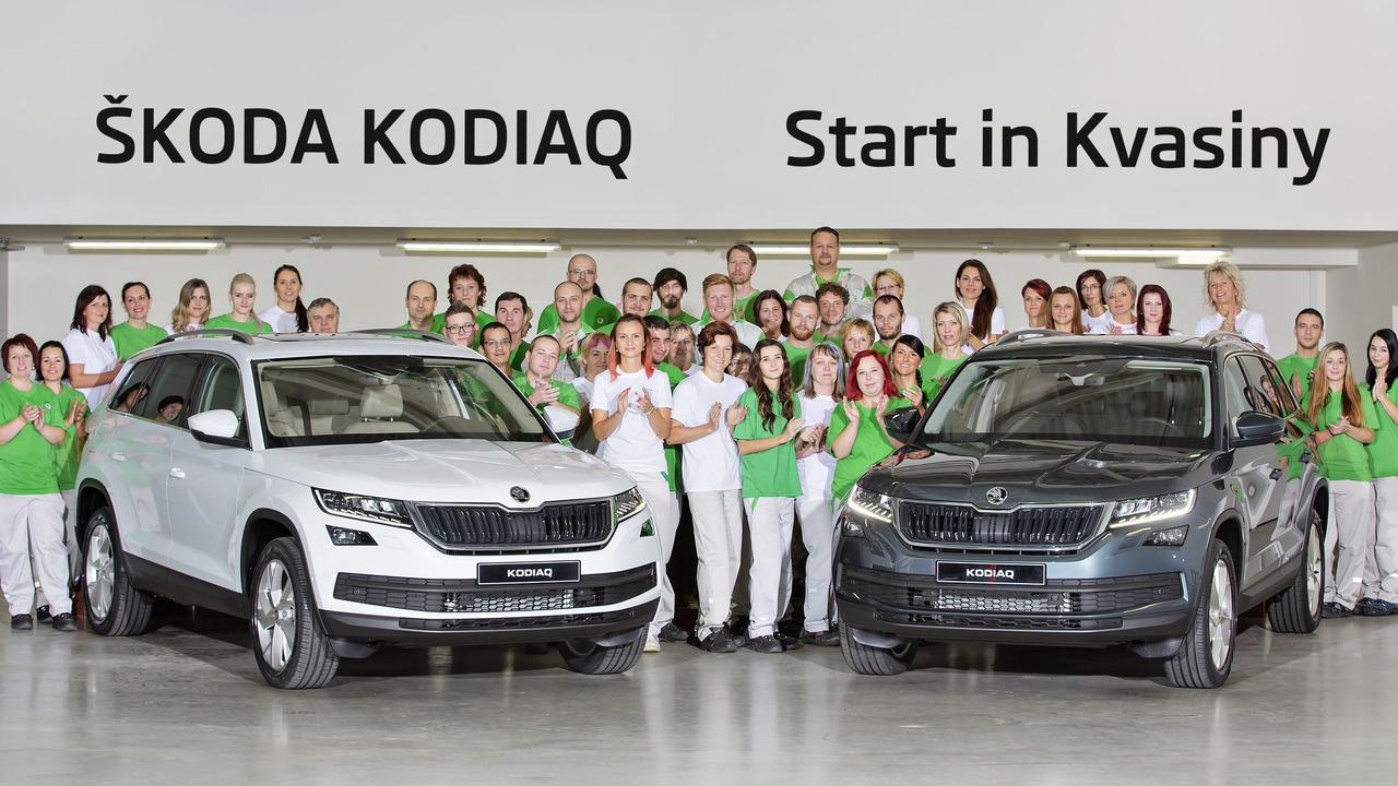 Skoda Kodiaq production