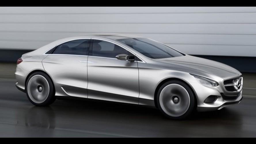 F800 Style: Conceito da Mercedes gera expectativa sobre linhas do novo CLS