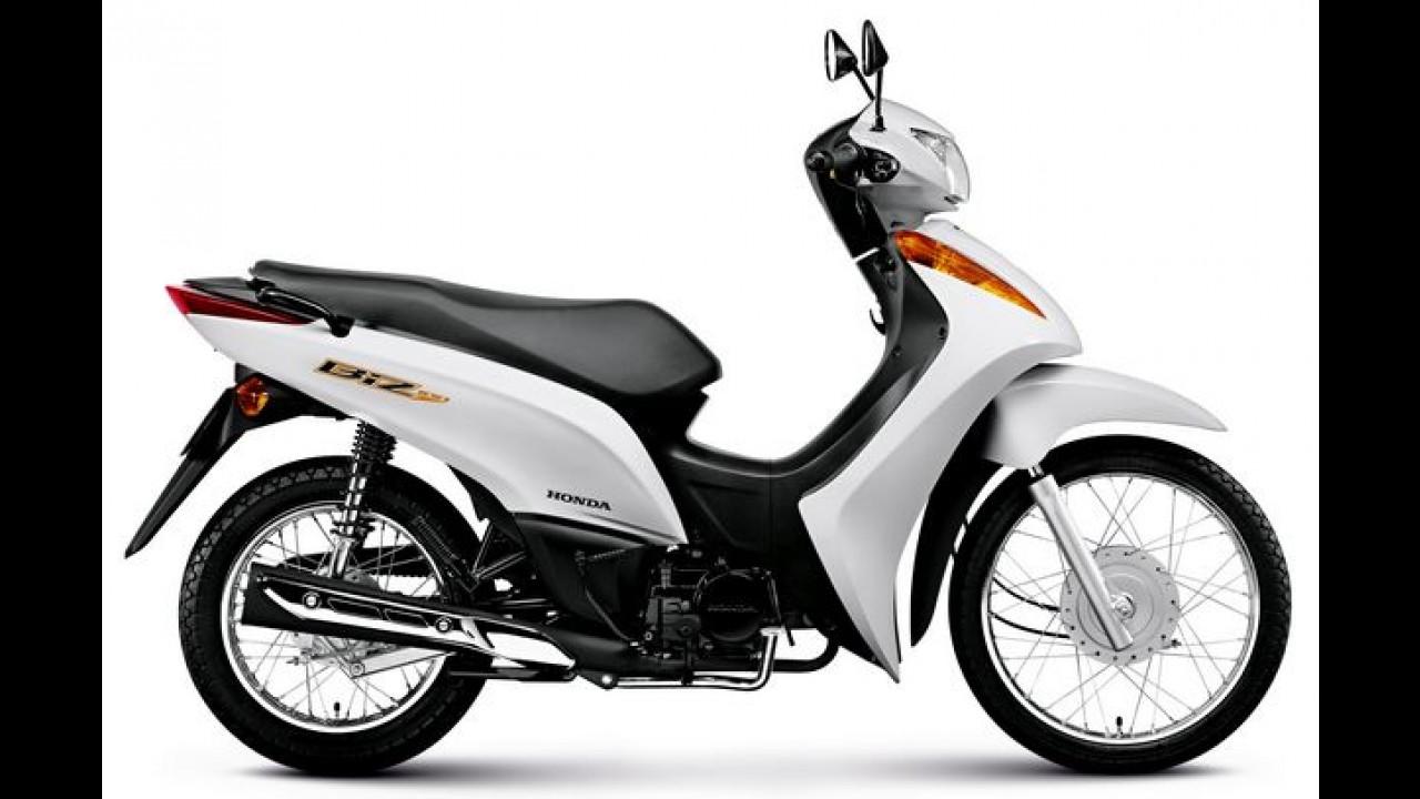 Honda CG 125 Fan e Biz 100 chegam com novas cores na linha 2015