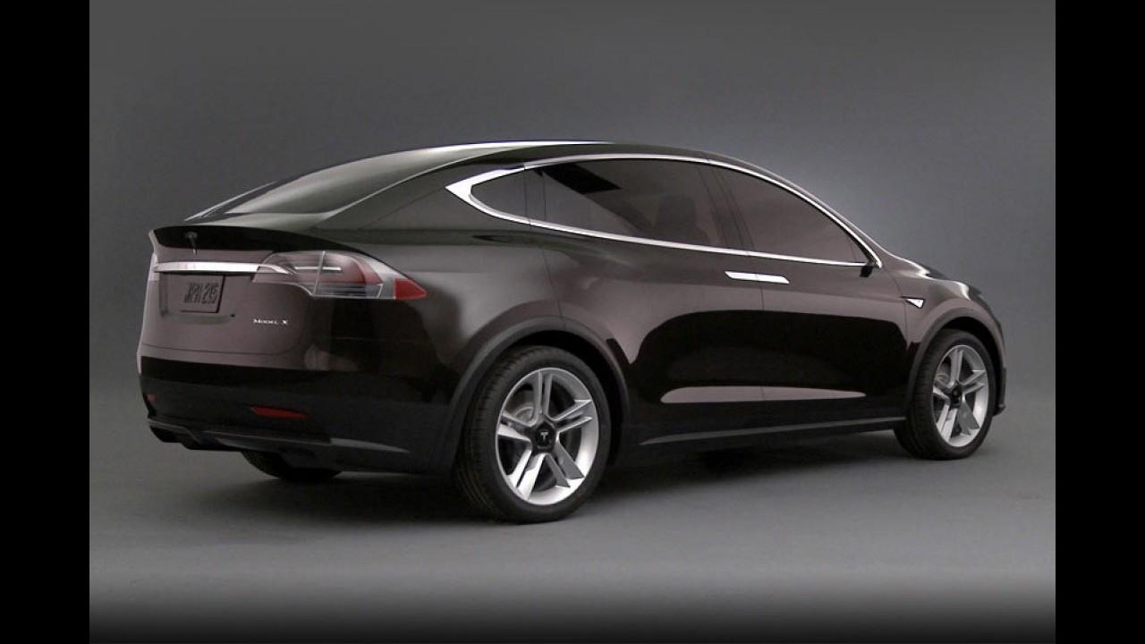 Tesla revela primeiros detalhes do Model X Concept
