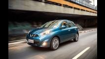 Nissan convoca March e Versa no Brasil para reparar falha nos airbags