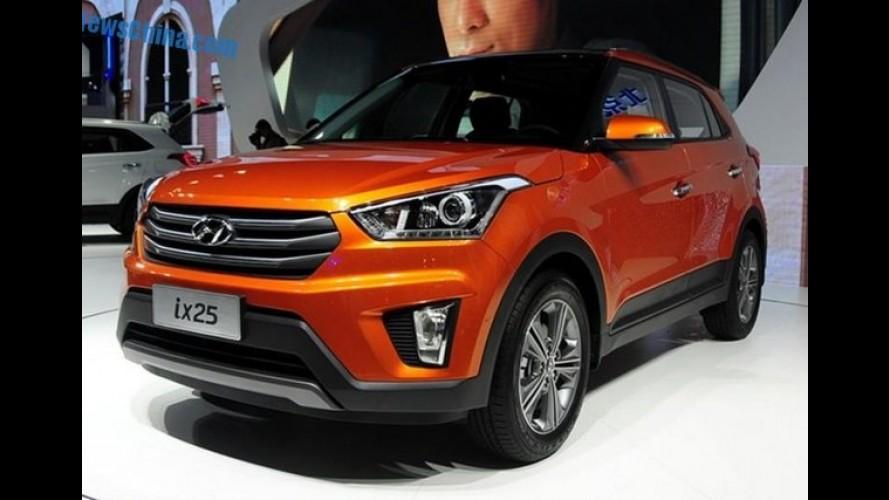 Descartado: Hyundai confirma que o ix25 não será lançado no Brasil