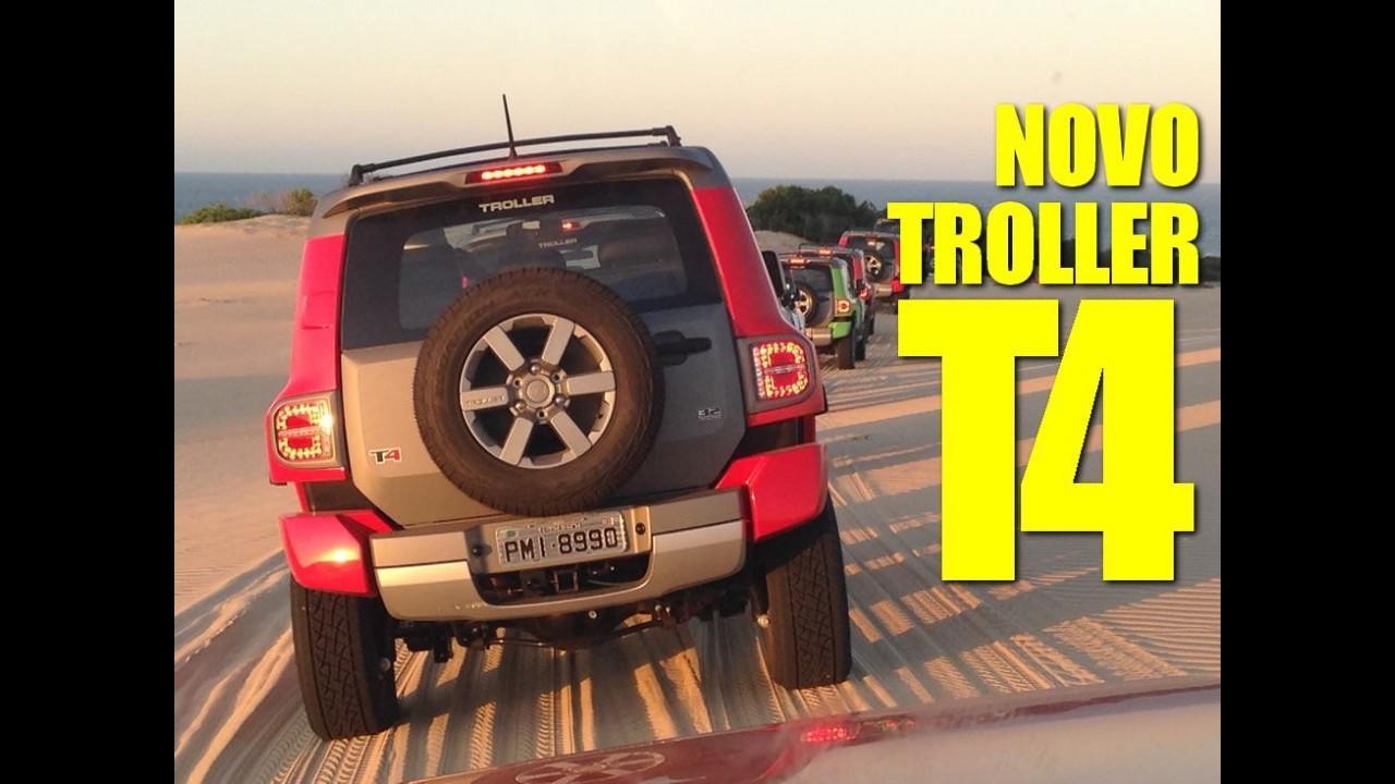 CARPLACE TV: impressões do novo Troller T4 2015 na estrada e off-road